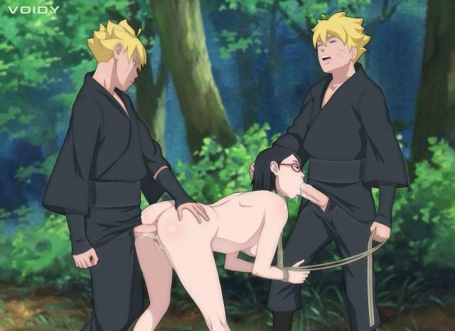Naruto porno de boruto e sarada fazendo sexo - top naruto hentai