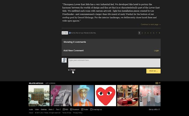 *馬賽克牆風格的歌手官網|Jay-Z Web Site 5