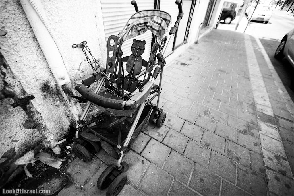 Черно-белый Тель-Авив | Black and white Tel-Aviv | LookAtIsrael.com - Фото путешествия по Израилю
