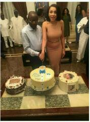 Adams Oshiomhole's wife lara is pregnant