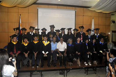 Batch 2011 pose together with MCCID Administrators, Faculty and Special Guest Speaker.