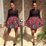 ankara short gown styles pictures 2016