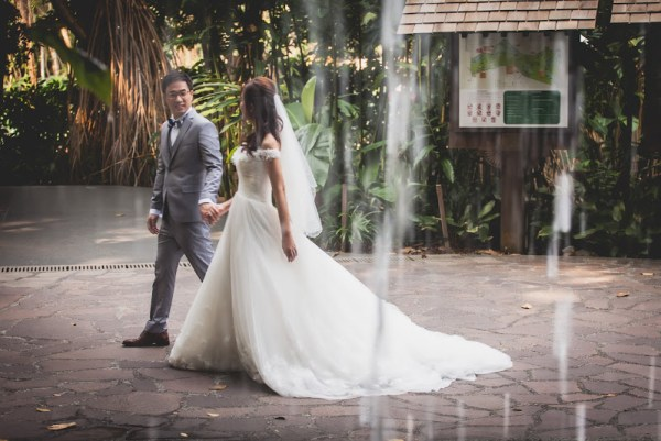 Botanical Garden Singapore Wedding