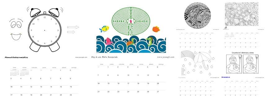 calendario-2017-infantil-actividades-colorear