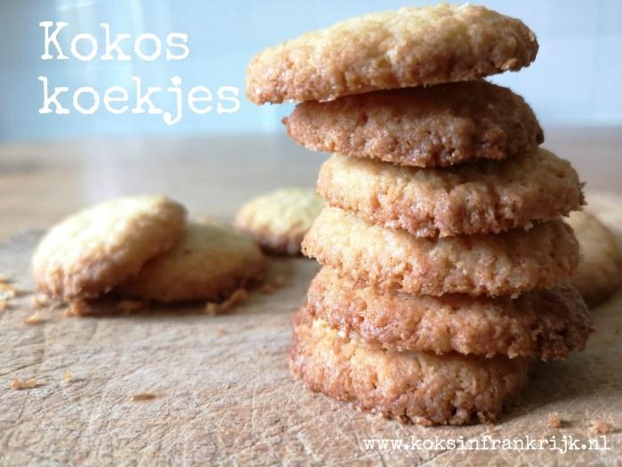 Knapperige kokoskoekjes naar recept van Rutger bakt
