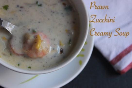 Prawn Zucchini Creamy Soup3