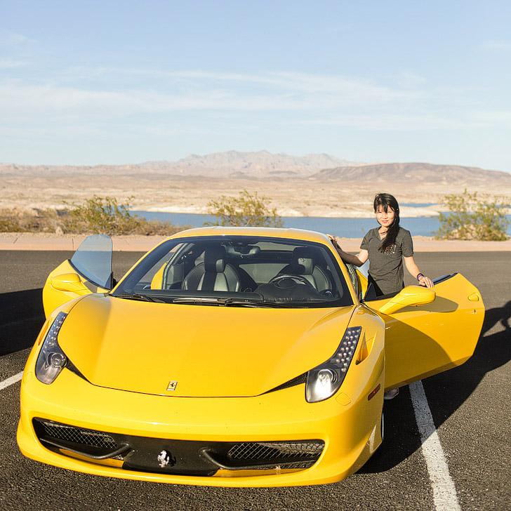 Test Drive a Ferrari (The Ultimate Las Vegas Bucket List).