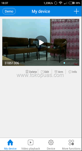 cara install cctv web ip camera