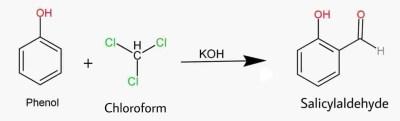 Phenol to Salicyaldehyde, Reimer Tiemann Reaction,carbene, Salicyaldehyde, crackchemistry ,crack Chemistry