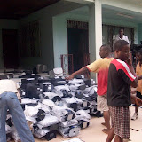 Container Arrival & Offloading in Buea - 100_9106.JPG