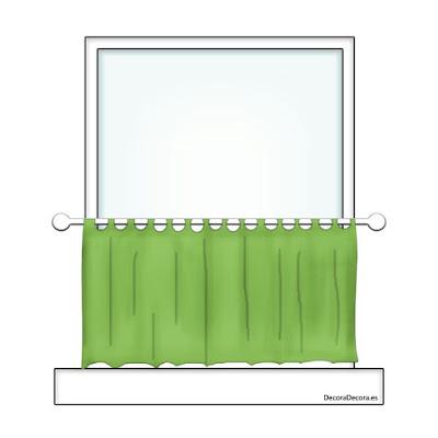 Tipos nombres cortinas