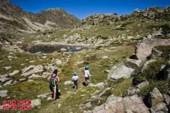 Primeros lagos en el Circo de La Solana. ©aunpasodelacima