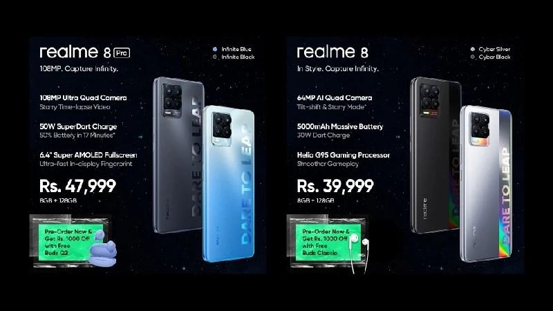 realme 8 Series Arrives in Pakistan
