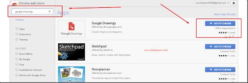 cara menggunakan google drawing