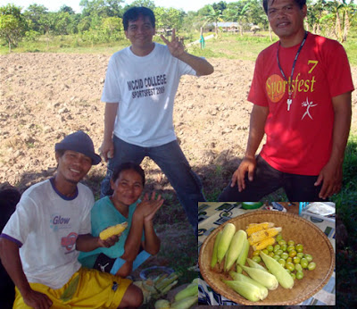 Day 4 - Deaf farmers showing their produce