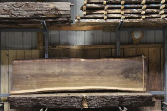 "603  Walnut - 5 10/4 x 33"" x 28"" Wide x  10'  Long"