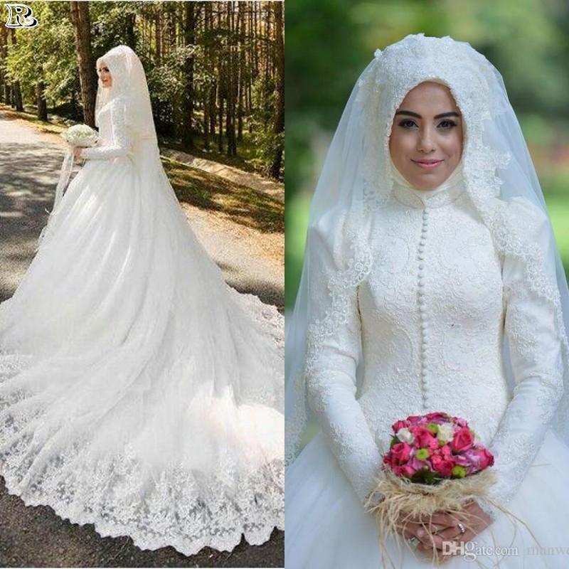 15 Muslim Wedding Dresses 2018 - Reny styles