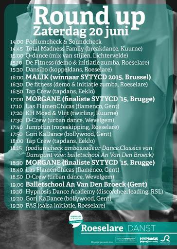 Roeselare Danst 20 juni '15