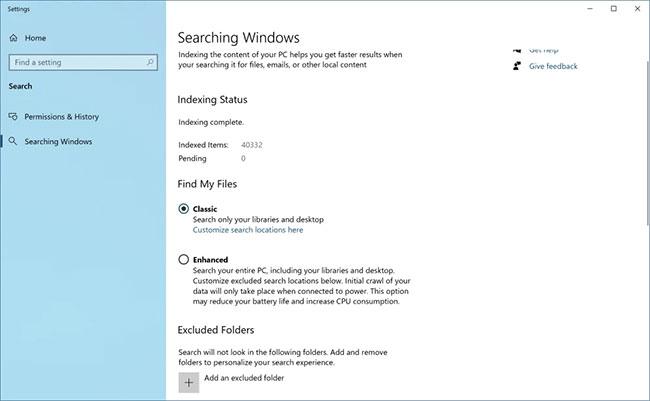 Tìm kiếm Windows nâng cao