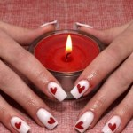 TOP 17 IDEAS TO VALENTINE'S DAY NAIL ART