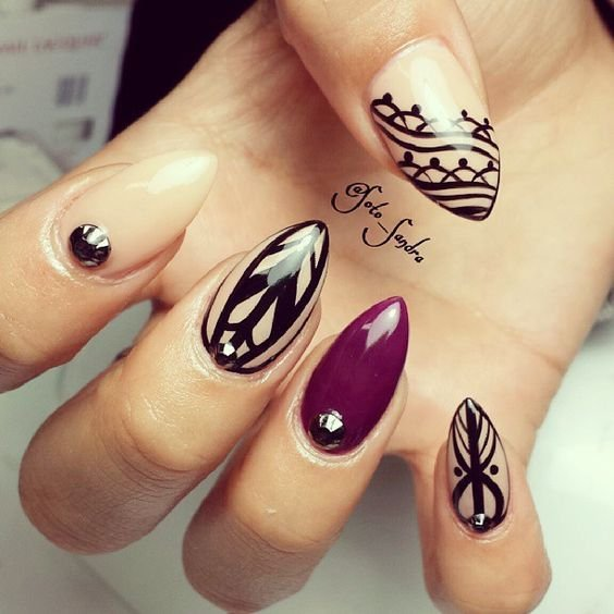 20 Latest Nail Art Designs Gallery Styles 2d
