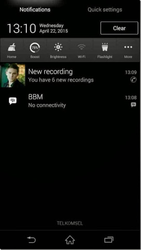 aplikasi untuk menyimpan suara hasil panggilan
