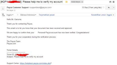 Verifikasi Akun Payza Tanpa Menggunakan Kartu Kredit dan VCC