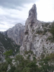 Blick zum Anica Kuk (712m)