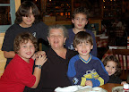 Nov, 2006 - Clockwise from Nonni, Connor, Logan, Hunter, Colden and Izzy