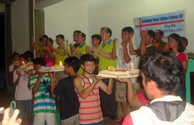 Day 4 - Blowing of Candles and Dedication Prayer