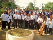 La orquesta se formó en mayo del año 2013 y su debut se realizó el 27 de Julio del mismo año