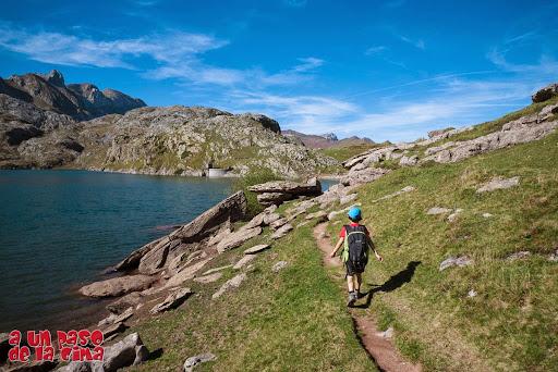 Hacia el Puerto de Bernera. ©aunpasodelacima