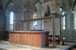 The High Altar, stripped bare on Good Friday