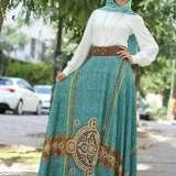 simple turkish hijab styles 2016 2017