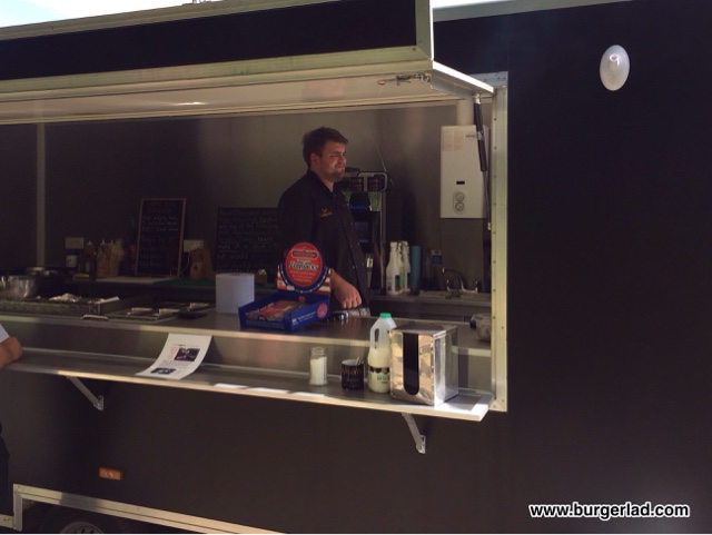 Sampson's Burger Van The Smoked Sampson