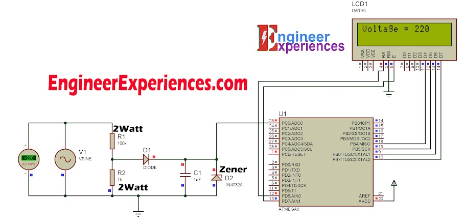 AC Voltage Measurement without Transformer | Engineer Experiences