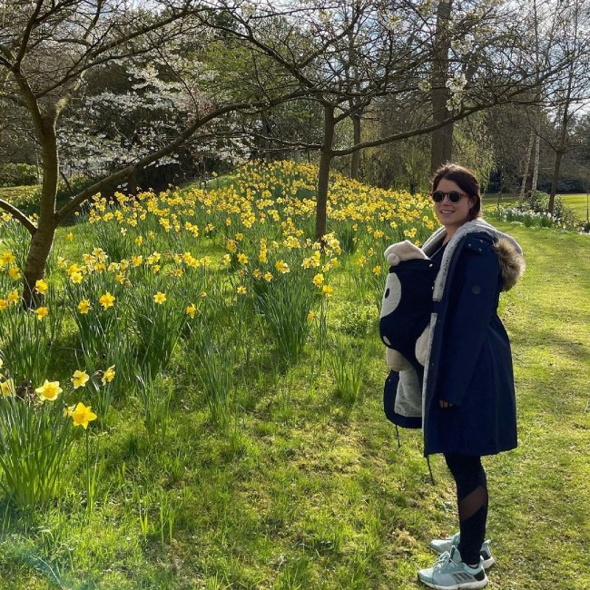 Princess Eugenie shares new picture of Baby August to Celebrate Special Occasion