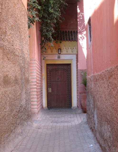 The entrance to Riad Al Moussika