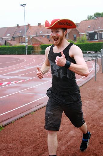 Piraat op jogging Krottegemse corrida