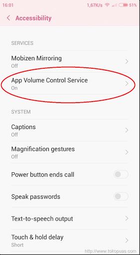 trik edit volume smartphone android