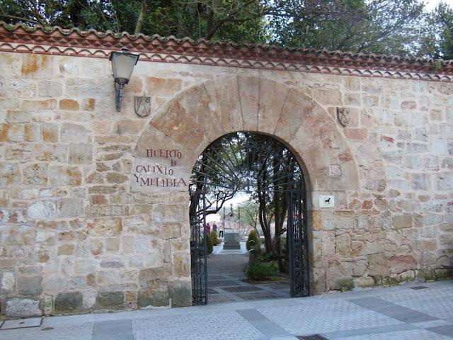 Huerto de Calixto y Melibea en Salamanca