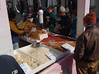 Markt bij Fuxung park