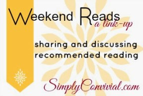 weekend reads linky party
