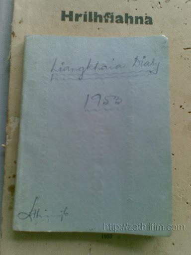 Liangkhaia Diary