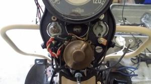 1941 Harley Davidson WL Restoration : Connecting the Dashboard Wires