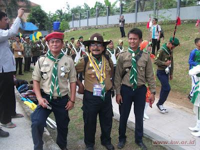 ketua Kwarwil HW Jawa Barat