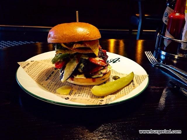 All Star Lanes Nacho Cheeseburger