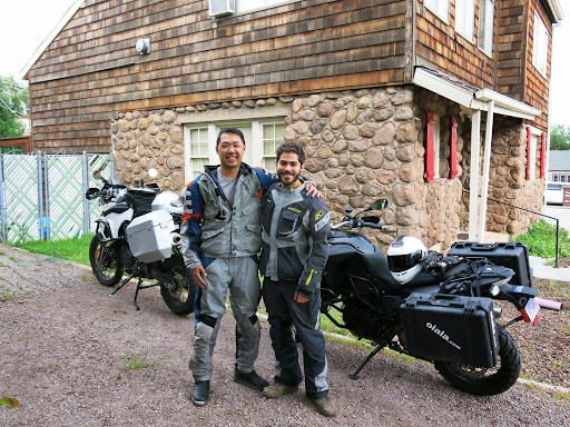 Going for a ride in the Sedona area with my friend and former coworker Tomas