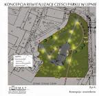 rewitalizacja parku w Lipnie. Źródło: lipno.pl