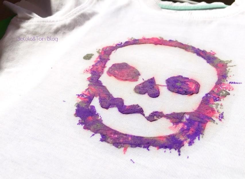 calavera-camiseta-diy-manualidad-personalizar-ceras